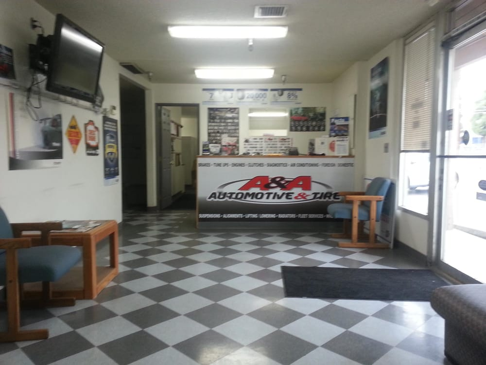 A&A Automotive Repair and Tire Lobby